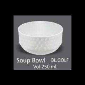 GOLD SOUP BOWL