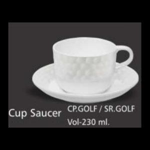 GOLF CUP SAUCER