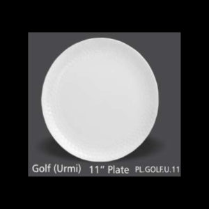 GOLF URMI PLATE ROUND 11 INCH
