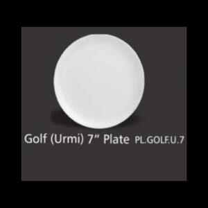 GOLF URMI PLATE ROUND 7 INCH