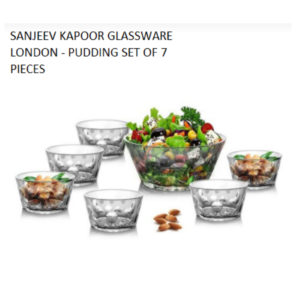 LONDON PUDDING SET