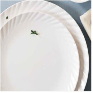 MELAMINE LILY PLATE 11 INCH PACK-6