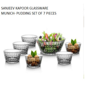 MUNICH PUDDING SET