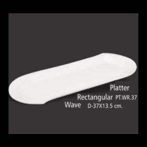 PLATTER - RECTANGULAR WAVE