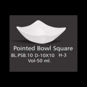 POINTED BOWL SQUARE