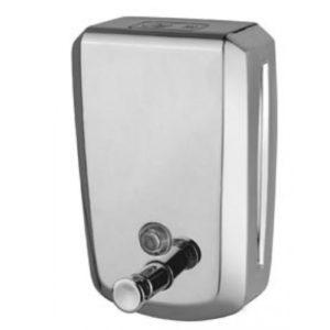 S.STEEL SOAP DISPENSER (SATIN FINISH)-800ML ES04