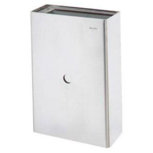 S.STEEL WALL MOUNTED WASTE RECEPTACLE KINOX (KWR)