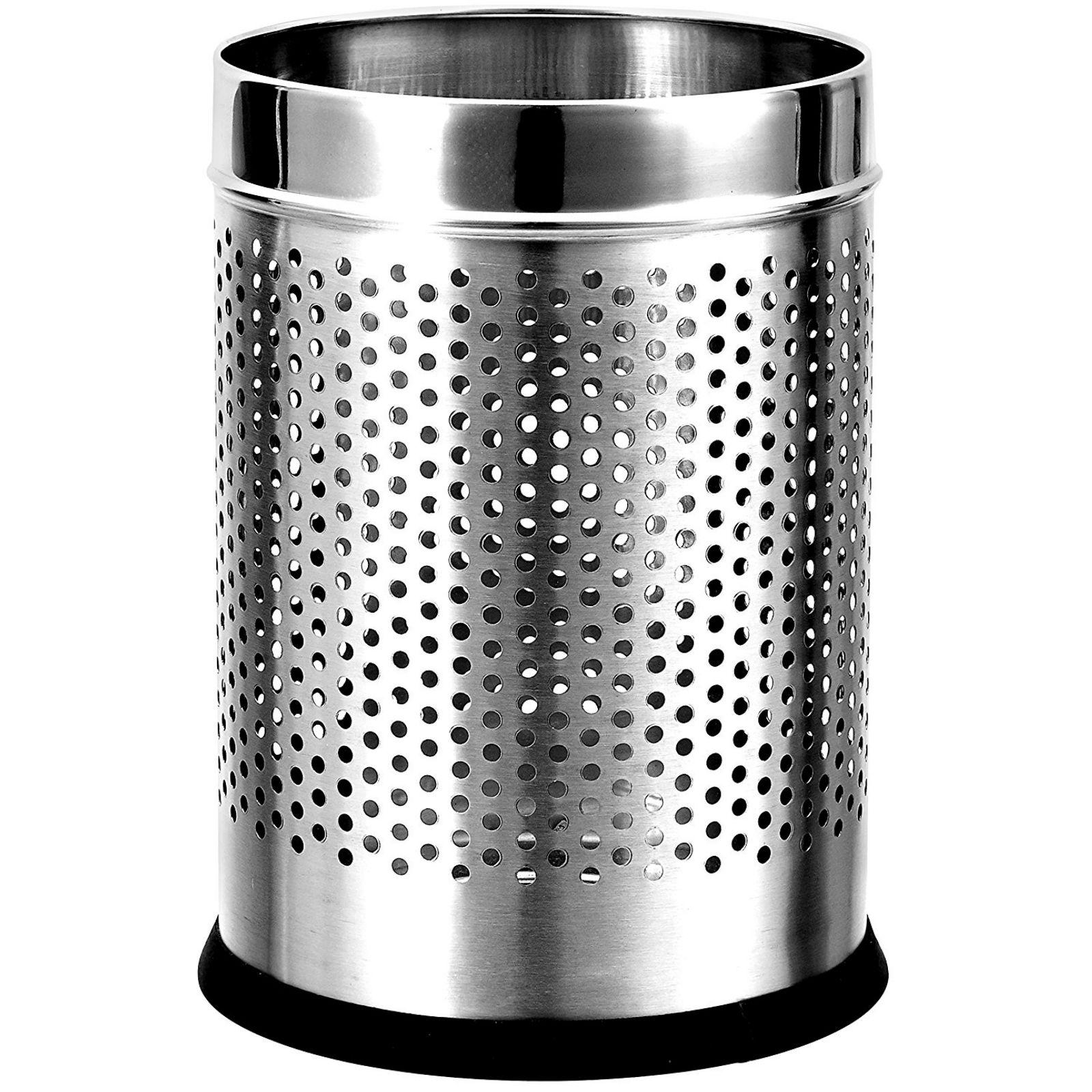 Ss Smoke Dustbin 28 X8 Stationery Items Wholesale