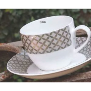 SUPER SERIES CUP SAUCER GORGE S326