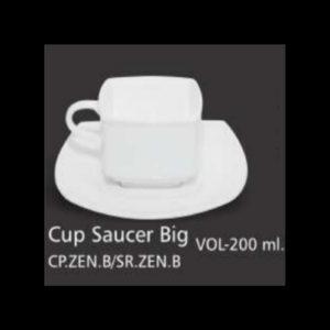 ZEN CUP SAUCER BIG
