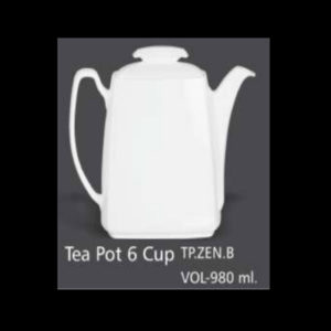 ZEN TEA POT 6 CUP VOL. 980 ML