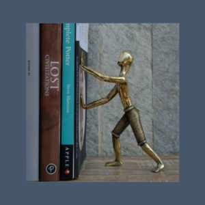 bookend-man-with-wooden-block