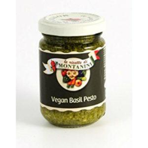 montanini vegan basil pesto sauce 140g