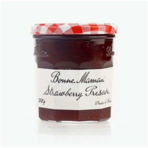 strawberry preserve 370g bm