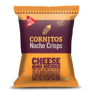 CORNITO NACHO CHIPS CHEESE AND HERBS