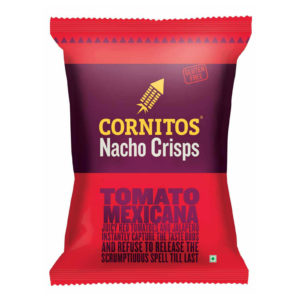 CORNITOS NACHO CHIPS TOMATO MEXICANA