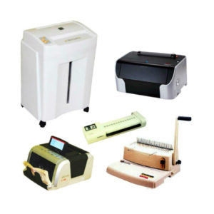 SHREDDERS, LAMINATORS & BINDERS