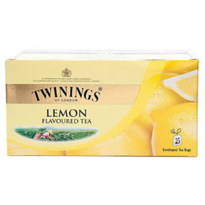 TWININGS LEMON BAGS PK 100