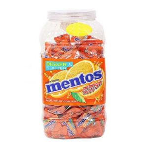 MENTOS ORANGE JAR 165 PCS