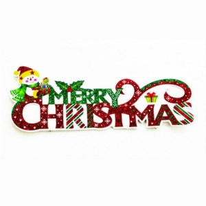 MERRY CHRISTMAS SUNBOARD STICKERS