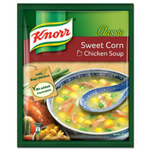 knorr sweet corn chicken soup