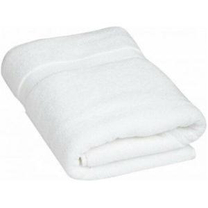 bath towel white 30X60