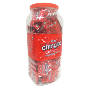 chingles gumlet cola jar.
