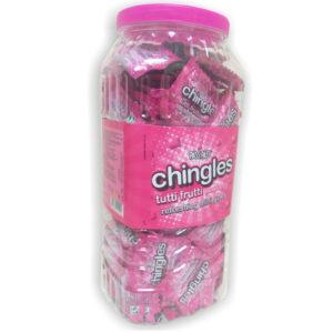 chingles gumlet tutti frutti jar