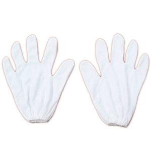 cotton hand gloves pair