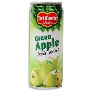 del monte greenapple juice 240ml