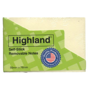 3M HIGHLAND 2x3 POST IT