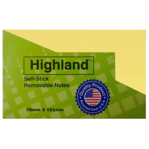 3M HIGHLAND 3x4 POST IT
