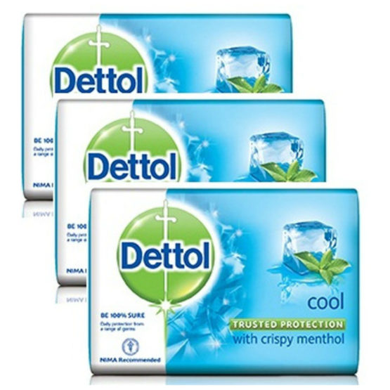 DETTOL SOAP, 125GM x 3(COOL) - Stationery items wholesale supplier in  Gurgaon & Delhi NCR