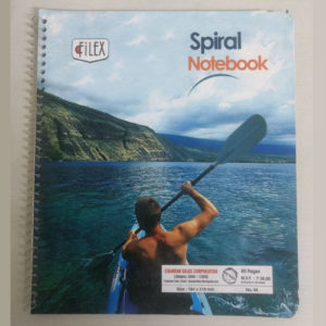 FILEX SPIRAL PAD NO.44 80 PAGES