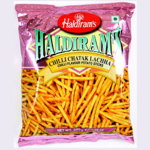 HALDIRAM CHILLI CHATAK LACHHA 200 GRAMS