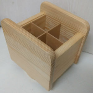 WOODEN CADDY 2