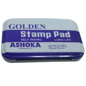 GOLDEN STAMP PAD BLACK