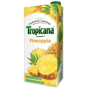 TROPICANA PINEAPPLE JUICE 1 LTR
