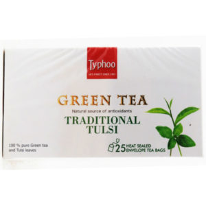 typhoo tulsi green tea