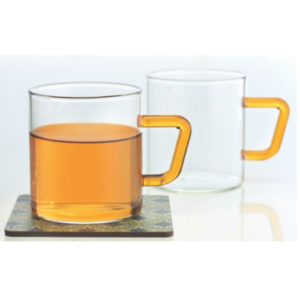BOROSIL CLASSIC TEA CUPS 190ML PK 6