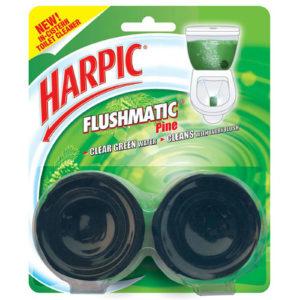 HARPIC FLUSMATIC PINE PK 2 100GM