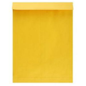YELLOW CLOTH ENVEL0PES 14X17