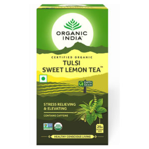 ORGANIC INDIA TULSI SWEET LEMON TEA PK25