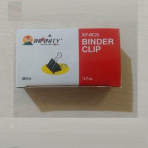 BINDER CLIP 25 MM INFINITY