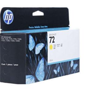 HP 72 Yellow Ink Cartridge C9373 130ml