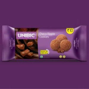 unibic ripple choco cookies